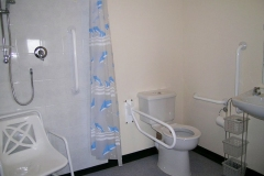 The accessible bathroom