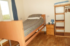 Single bedroom with electrically operated bed