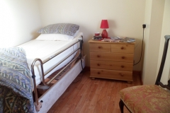 A single bedroom with single bed